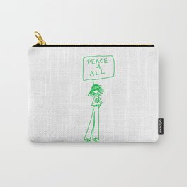 Peace For All Carry-All Pouch