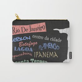 Rio De Janeiro Tourism Poster Carry-All Pouch