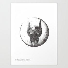 Because I'm Bat-man Art Print