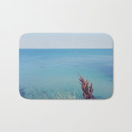 Marine blue Bath Mat