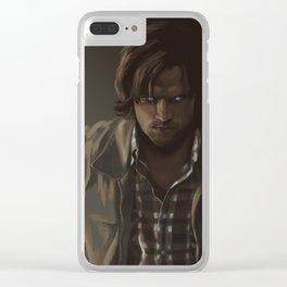 Ezekiel. Sam Winchester Clear iPhone Case
