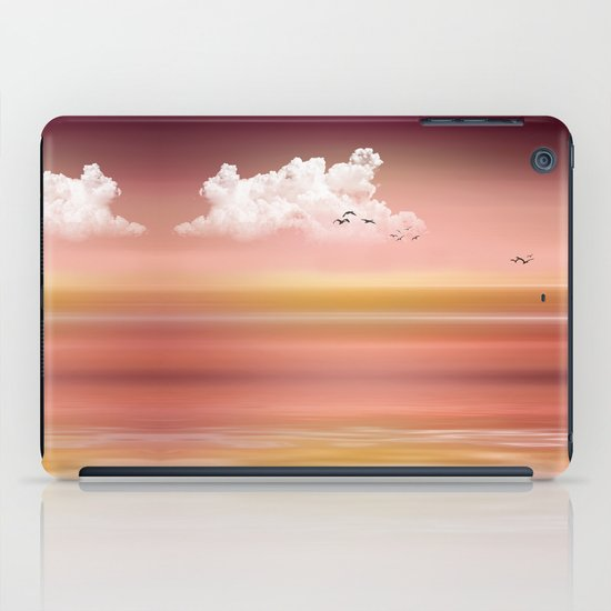FROM DUSK TO DAWN - a golden sunset iPad Case