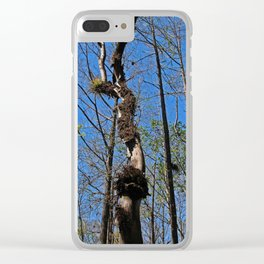 Time Hurries On (horizontal) Clear iPhone Case