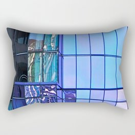 Architectural Abstract Rectangular Pillow