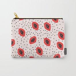 Cute Papaya Fruit Carry-All Pouch