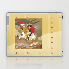 Napoleon Crossing the Alps by  Jacques-Louis David  Laptop & iPad Skin