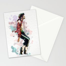 Pop legend watercolor Stationery Cards