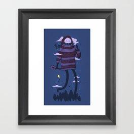 Strollin Framed Art Print
