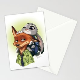 Zootropolis Stationery Cards
