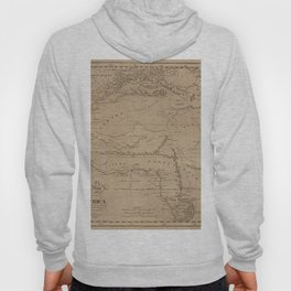 Map Of Africa 1816 Hoody