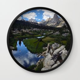 Fin Dome Wall Clock
