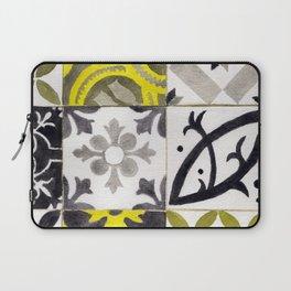 JD_tiled floor1–gouache Laptop Sleeve