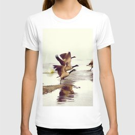 The Take Off - Wild Geese T-shirt