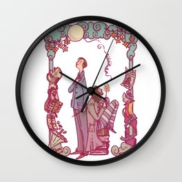 Sirius and Remus Wall Clock