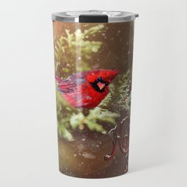 Holly Berries Travel Mug