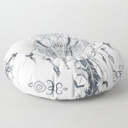Wolf Spirit Floor Pillow