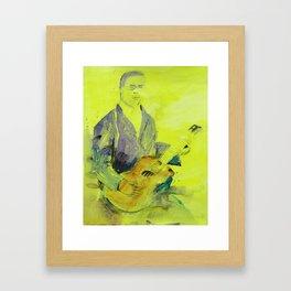 Blind Lemon Jefferson American Blues Musician Framed Art Print