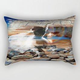 Stevie Nicks - Blue Water Rectangular Pillow