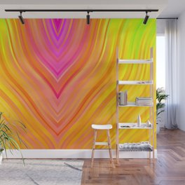stripes wave pattern 3 stdi Wall Mural