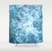 mexico Shower Curtains featuring Missing Mexico by Nancy Smith