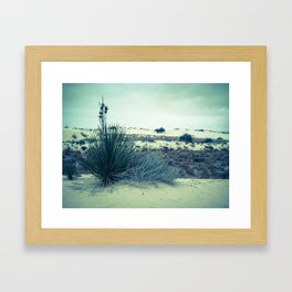 White Sands, New Mexico - WSNM02 Framed Art Print