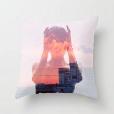 Insideout 8. Mind Pollution Throw Pillow