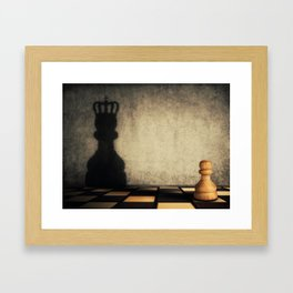 pawn glorification Framed Art Print