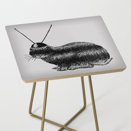 Fuzzy Reception Side Table