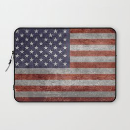USA flag, High Quality retro style Laptop Sleeve