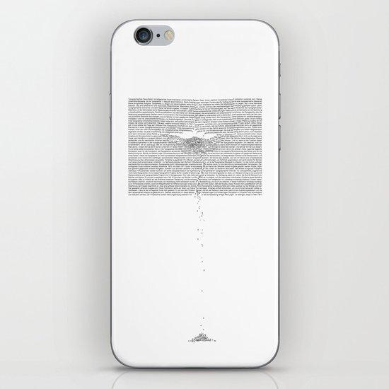 Erosion & Typography 1 iPhone & iPod Skin