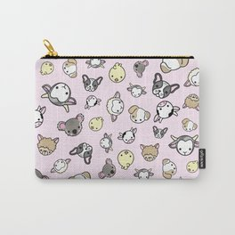 Pink Critter Collection Carry-All Pouch