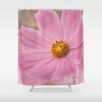 cosmos Shower Curtains featuring Cosmos by Cindi Ressler Photography