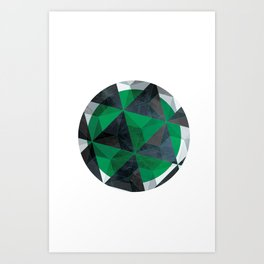 Jade Eye Art Print