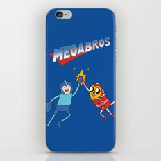 Mega Bros iPhone & iPod Skin