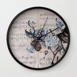 Chanson Russe Wall Clock