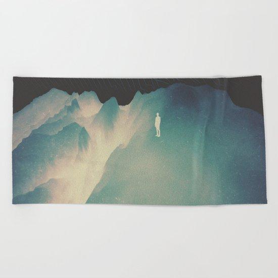 Falling Beach Towel