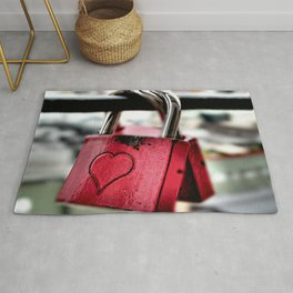 connected in love Rug