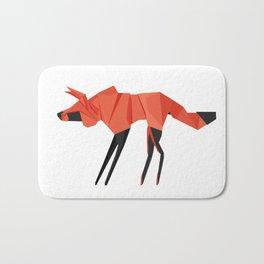 Origami Hyena Bath Mat