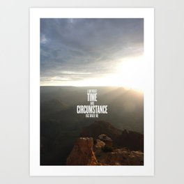 Time & Circumstance Art Print