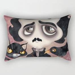 Edgar Poet Rectangular Pillow