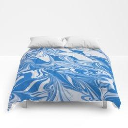Bleed Tarheel Blue Comforters