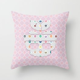 The Nik-Nak Bros. Kotton Kandee Deluxe Throw Pillow