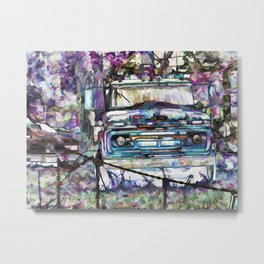 Old tow truck Metal Print