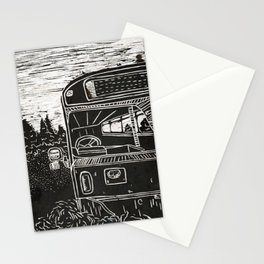 Magic Bus Stationery Cards