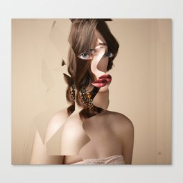 Another Portrait Disaster · W3 Canvas Print
