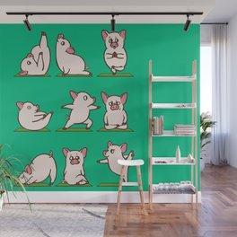 Pig Yoga Wall Mural