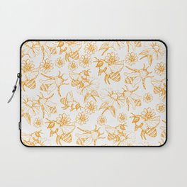 Aesthetic and simple bees pattern Laptop Sleeve