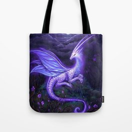 moonlight dragon Tote Bag