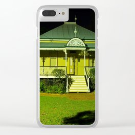 Wynnum Shire Clerk's Cottage Clear iPhone Case