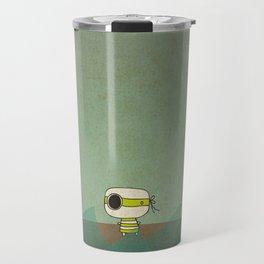 Little Green Pirate Travel Mug